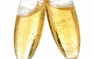 Rêver de boire du champagne