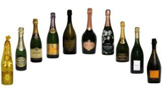 Rêver de bouteilles de champagne