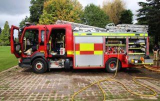Rêver de camion de pompiers
