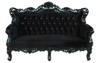 Rêver de canapé noir