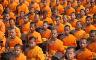 Rêver de cérémonie bouddhiste