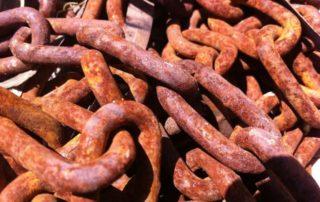 Rêver de chaînes en fer