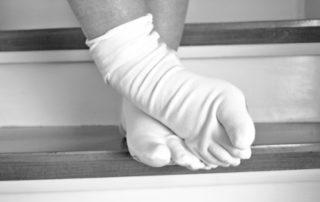 Rêver de chaussettes blanches