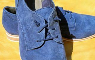 Rêver de de chaussures bleues