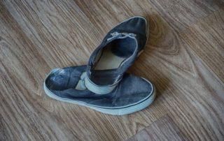 Rêver de de chaussures usées