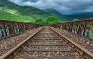 Rêver de chemin de fer