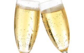 Rêver de coupes de champagne