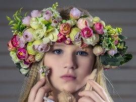 Rêver de couronne de fleurs