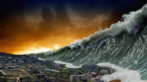Rêver de tsunami et son interprétation: