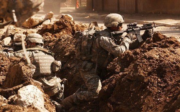 La guerre dans un cauchemar