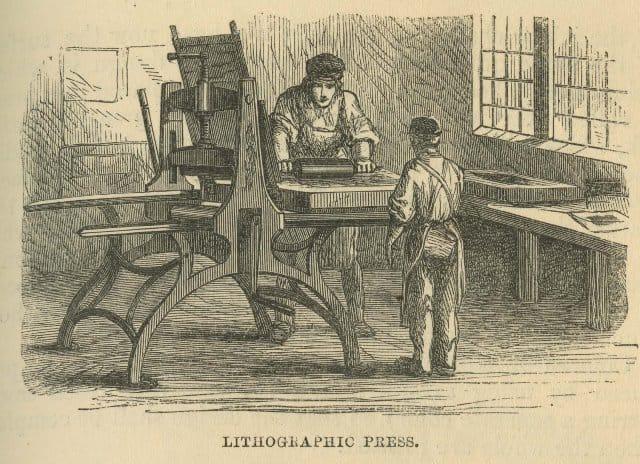 Que signifie rêver de lithographie ?