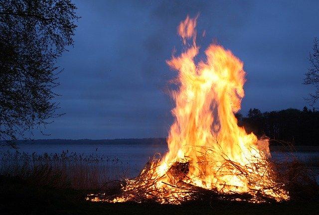Tous les rêves sur le feu et les incendies